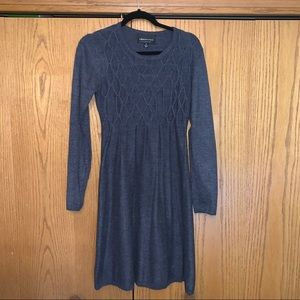 Connected: long sleeve sweater dress